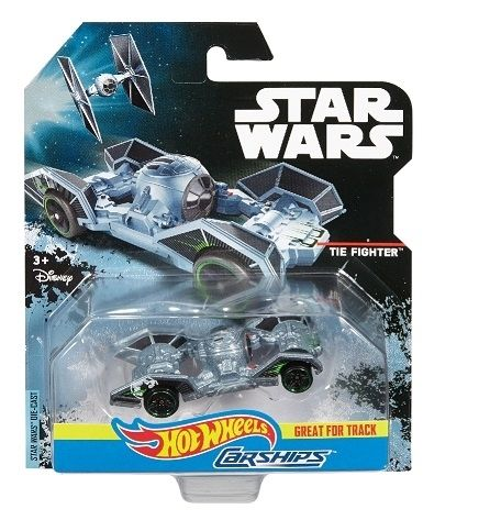 Hot Wheels star wars autostatki Tie Fighter